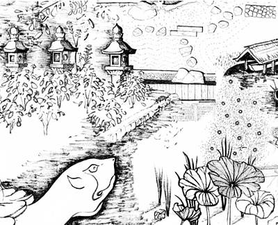 Simplicity Drawing - 5.27.japan-6-detail-b by Charlie Szoradi