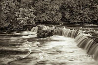 Photograph - Aysgarth Falls by Mariusz Talarek