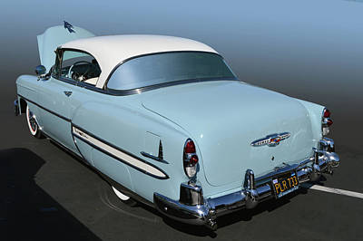 Photograph - 53 Chevy Bel Air Ht by Bill Dutting