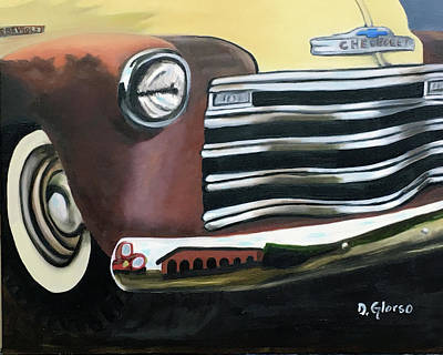 Painting - 53 Chevy Truck by Dean Glorso