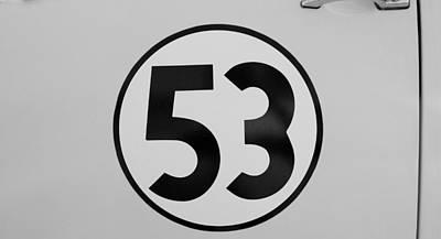 53 Herbie B W Art Print