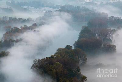 Photograph - Morning Mist by Pietro Ebner