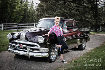 Photograph - 53 Pontiac by Brad Allen Fine Art