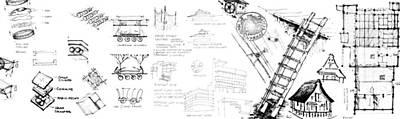 Drawing - 5.37.japan-8-detail-c by Charlie Szoradi