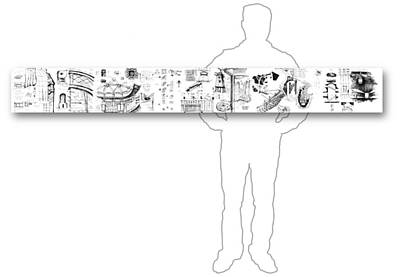 Drawing - 5.38.japan-9-horizontal-with-figure by Charlie Szoradi