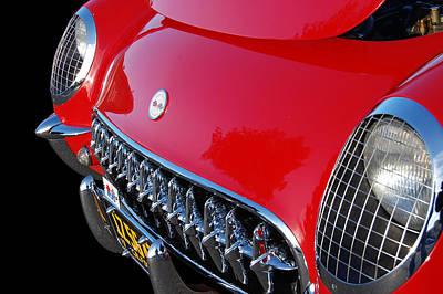 Photograph - 54 Corvette  by Bill Dutting