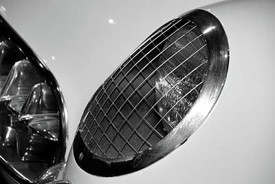 Photograph - '54 Corvette Headlight by Mike Martin