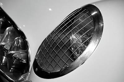 Photograph - '54 Corvette Headlight by Mike Martin