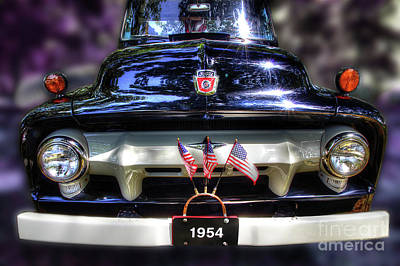 Photograph - 54 Ford by Michael Eingle