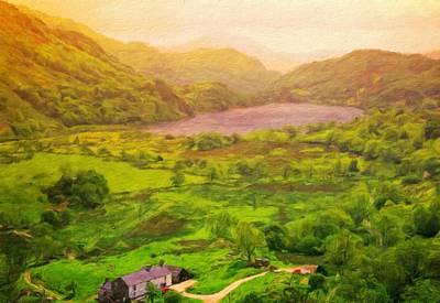 Landscape Painting - Landscape Nature Art by Margaret J Rocha