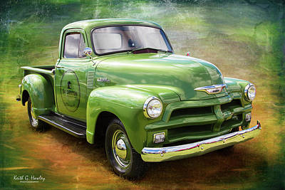 Photograph - 54 Pickup by Keith Hawley