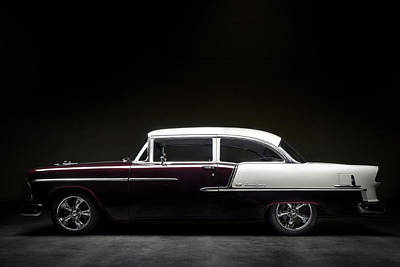 Digital Art - 55 Bel Air by Douglas Pittman