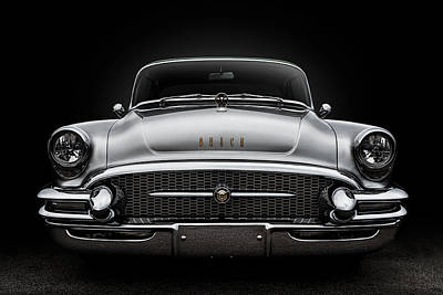 Digital Art - 55 Buick Super by Douglas Pittman