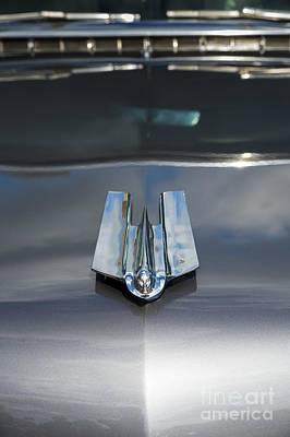 1955 Cadillac Photograph - 55 Cadillac Hood Ornament by Tim Gainey