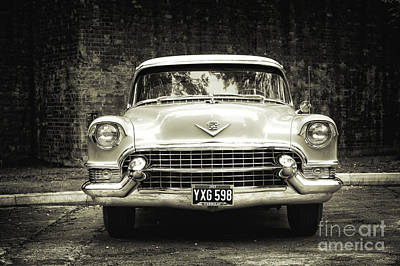 50s Photograph - 55 Cadillac  by Tim Gainey