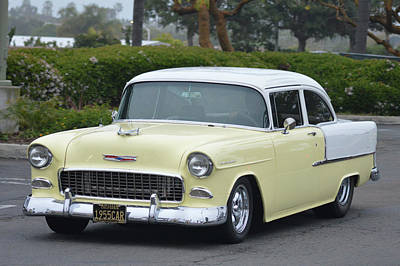 Photograph - 55 Chev 210 Sedan by Bill Dutting