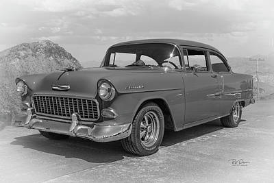Photograph - 55 Chevy by Bill Posner