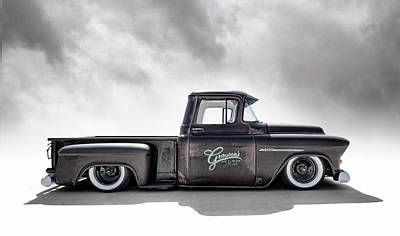 Photograph - '55 Chevy Pickup by Douglas Pittman