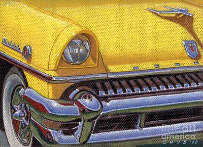 Pastel - '55 Mercury by Stephen Shub