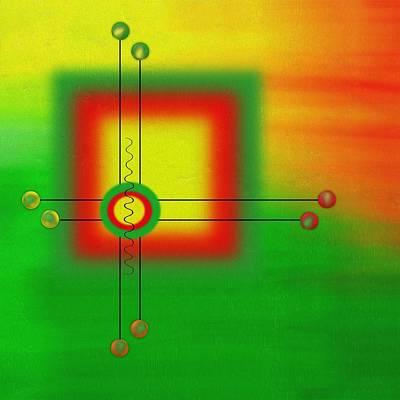Gabii40 Painting - Modern Art by Gabi Siebenhuehner
