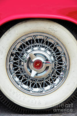 Photograph - 55 Red Thunderbird by Tim Gainey