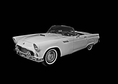 Art Print featuring the photograph 55 T Bird by Gary Smith