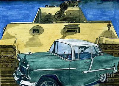 55 Art Print by Timothy Winiarski