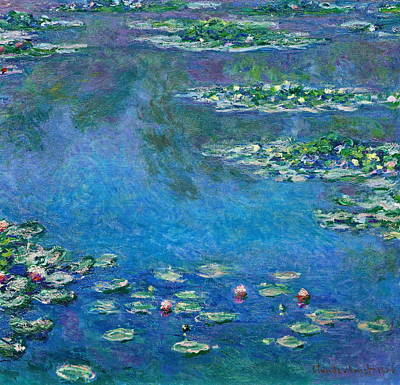 Water Lilies Original by Claude Monet
