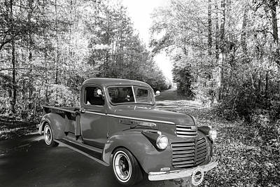 Photograph - 5514.01 1946 Gmc Pickup Truck by M K Miller
