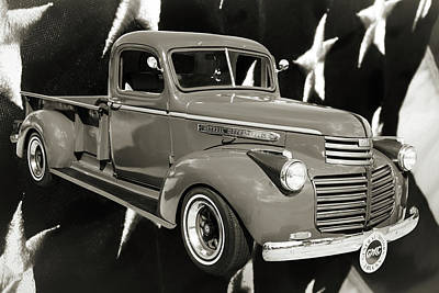 Photograph - 5514.03 1946 Gmc Pickup Truck by M K Miller