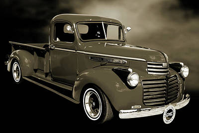 Photograph - 5514.04 1946 Gmc Pickup Truck by M K Miller