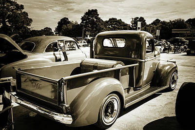 Photograph - 5514.06 1946 Gmc Pickup Truck by M K Miller