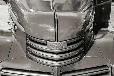 Photograph - 5514.10 1946 Gmc Pickup Truck by M K Miller