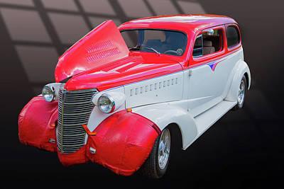 Photograph - 5515.03 1938 Chevrolet Sedan by M K Miller