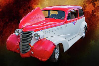 Photograph - 5515.04 1938 Chevrolet Sedan by M K Miller