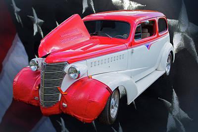 Photograph - 5515.05 1938 Chevrolet Sedan by M K Miller