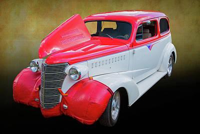 Photograph - 5515.06 1938 Chevrolet Sedan by M K Miller
