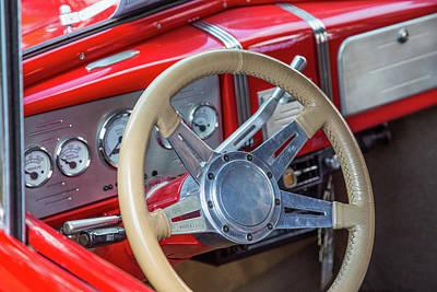 Photograph - 5515.11 1938 Chevrolet Sedan by M K Miller