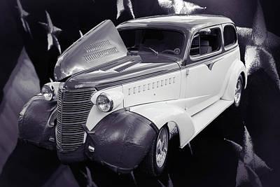 Photograph - 5515.54 1938 Chevrolet Sedan by M K Miller