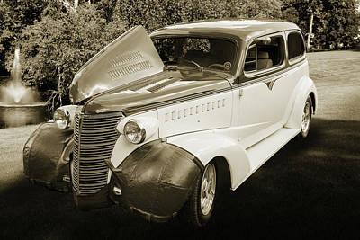 Photograph - 5515.56 1938 Chevrolet Sedan by M K Miller