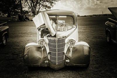 Photograph - 5515.57 1938 Chevrolet Sedan by M K Miller