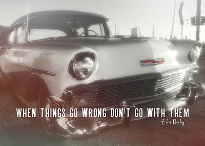 56 Belair In Memphis Quote Art Print by JAMART Photography