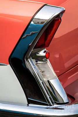 Photograph - '56 Buick Taillight by Dennis Hedberg