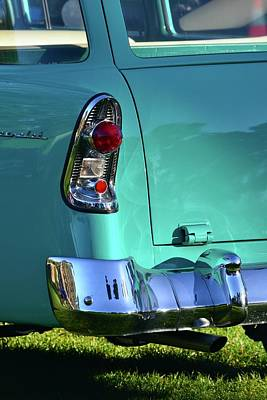 Photograph - 56 Chevy Detail by Dean Ferreira