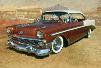 Photograph - '56 Chevy by Victor Montgomery