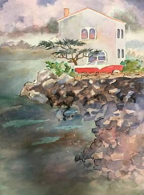 Painting - 55 Ford At Home by John Svenson