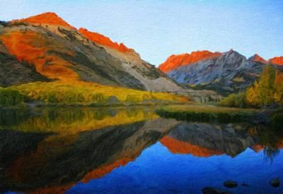Landscape Painting - Landscape Art Nature by Margaret J Rocha