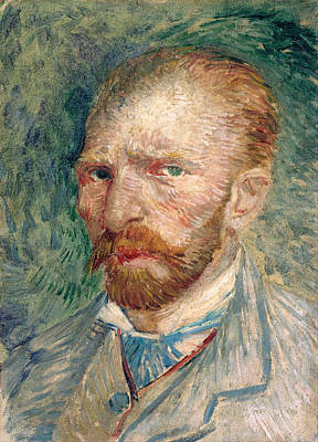 Photograph - Self Portrait by Vincent Van Gogh