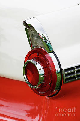 Photograph - '56 Taillight by Dennis Hedberg