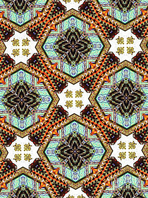 Unique Design Pattern Art Print by Amy Cicconi